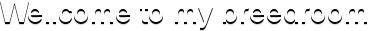 Wellcome to my breedroom
